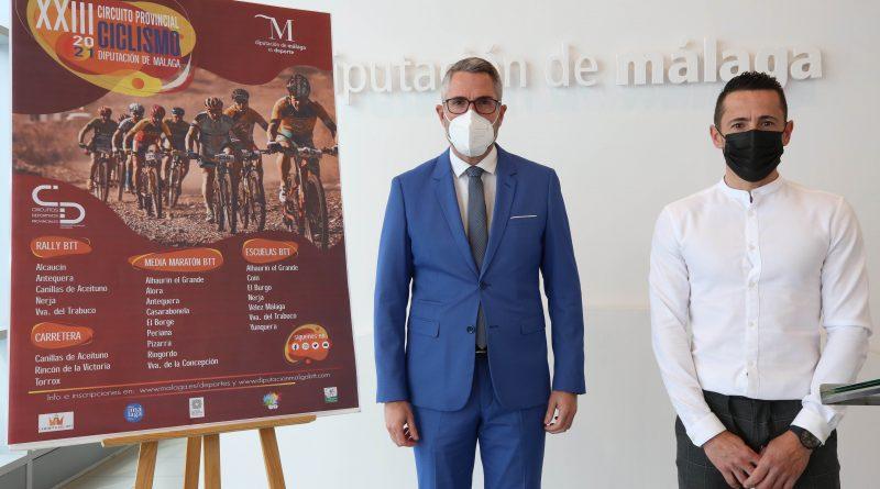 Arranca la 23ª edición del Circuito Provincial de Ciclismo de la Diputación con 24 pruebas que recorrerán una veintena de municipios