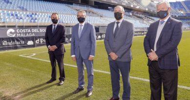 La Diputación de Málaga patrocinará al Málaga CF durante las dos próximas temporadas