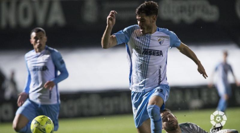 Un Málaga materializador: genera poco, pero acaba en gol