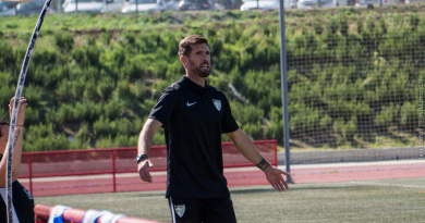 """Javi Ramos, optimista con el resultado: """"El equipo tiene que seguir confiando"""""""