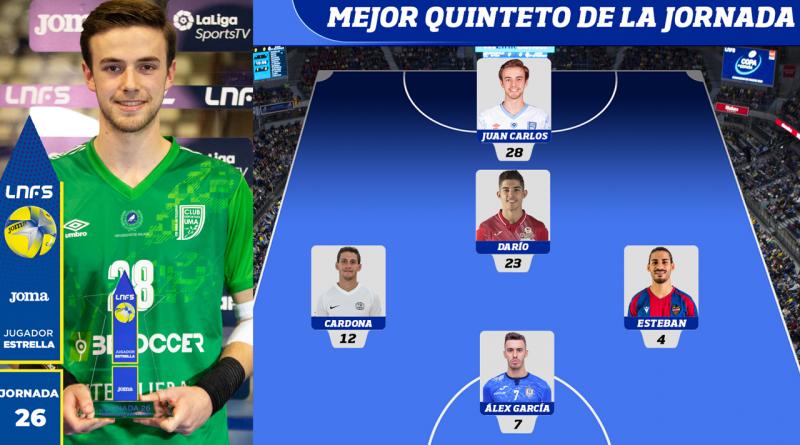 MVP y Quinteto Ideal: el fin de semana perfecto de Juanqui