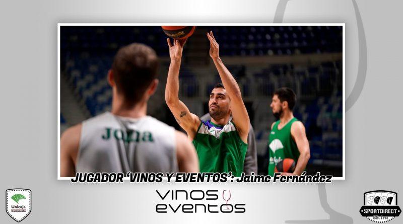 Jaime Fernández se corona ante el UCAM y obtiene el Jugador Vinos y Eventos