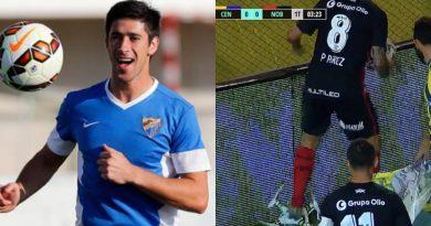 Pablo Pérez da la vuelta al mundo tras destrozar un drone... ¡en mitad de un partido!