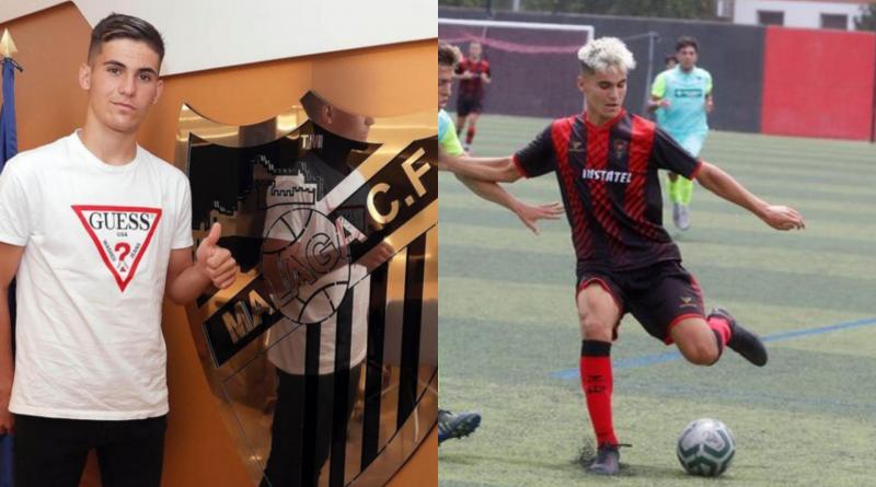 El Juvenil del Málaga, reciente campeón de liga, pesca un nuevo goleador