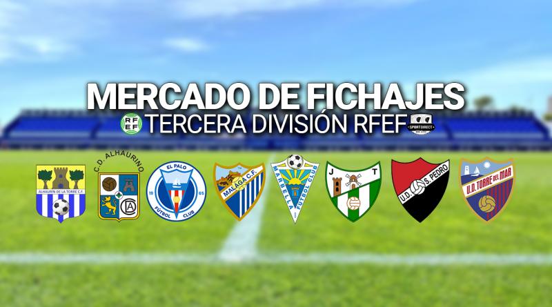 El mercado de fichajes de los equipos malagueños de Tercera RFEF, en directo