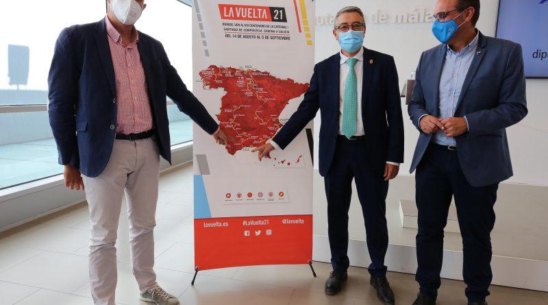 Málaga se viste de gala para la llegada de La Vuelta a España