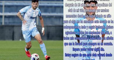 Mini se despide del Málaga y confirma su salida