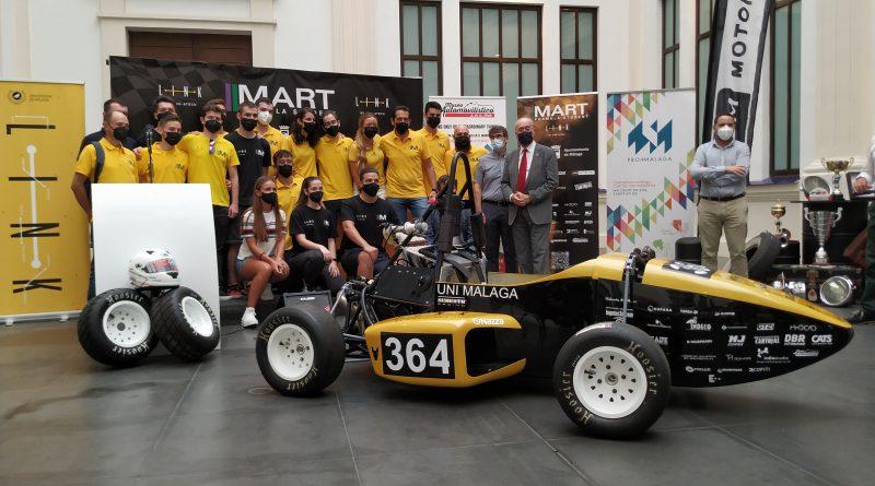 MART Racing, equipo malagueño de Fórmula Student, presenta el monoplaza con el que competirá en Montmeló