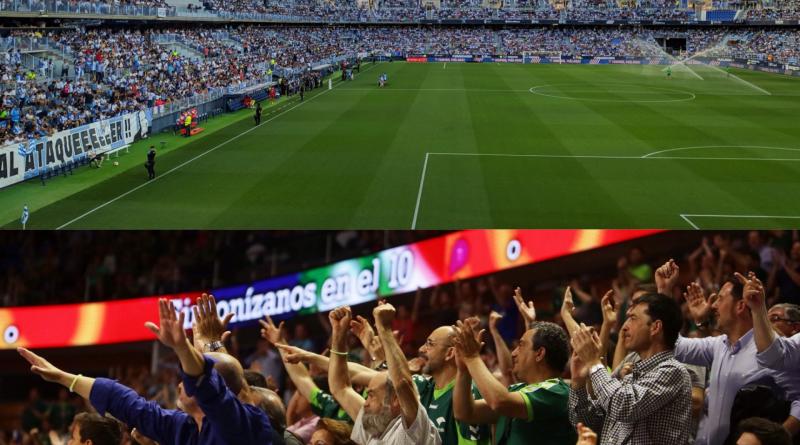 El Málaga podrá acoger un 40% de aforo en agosto y el Unicaja, un 30