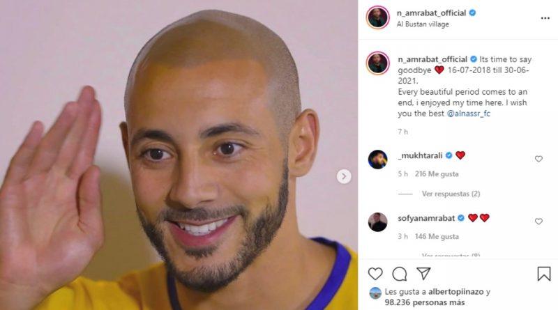 Amrabat se despidió de su anterior equipo y su futuro, más en el aire que nunca