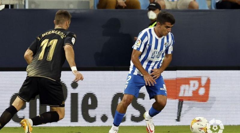 Víctor Gómez es el jugador número 400 en vestir la camiseta del Málaga CF