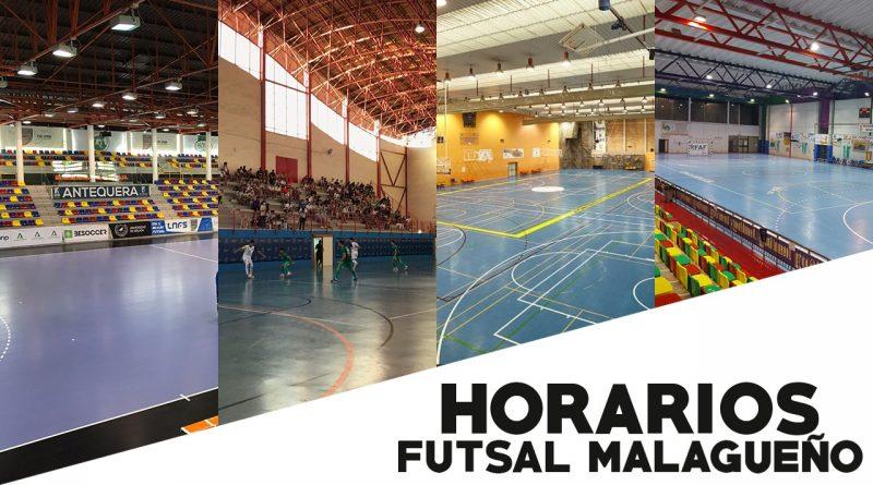 Horarios del futsal malagueño en la semana del 18/10 al 24/10