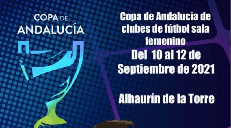 La Copa de Andalucía de fútbol sala femenino tendrá como sede Alhaurín de la Torre