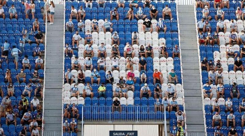 Sanidad amplia el aforo de los estadios hasta el 60%