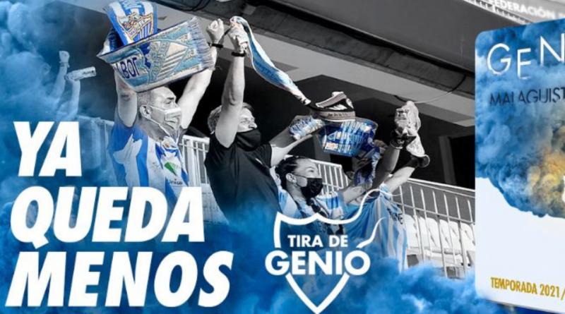 El Málaga CF da a conocer los abonos de la temporada 2021/22