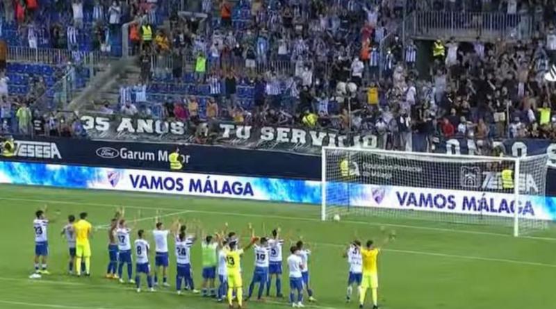 11.108 almas llevaron en volandas al Málaga hacía la victoria