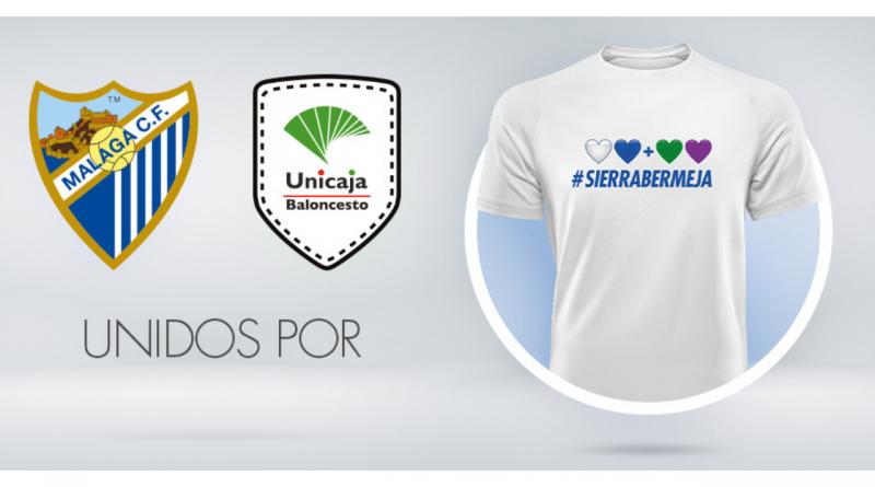 Málaga y Unicaja, unidos por Sierra Bermeja