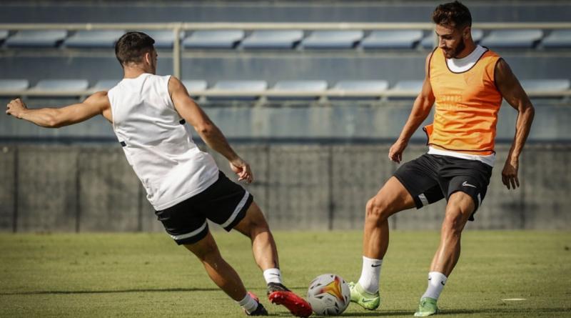 Buenas noticias en el Málaga: Sekou, Luis Muñoz e Ismael se entrenan con el grupo