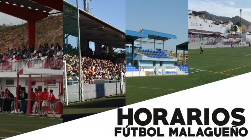 Horarios del fútbol malagueño