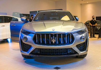 Maserati se estrena en Málaga con la presentación de su nuevo Levante Híbrido