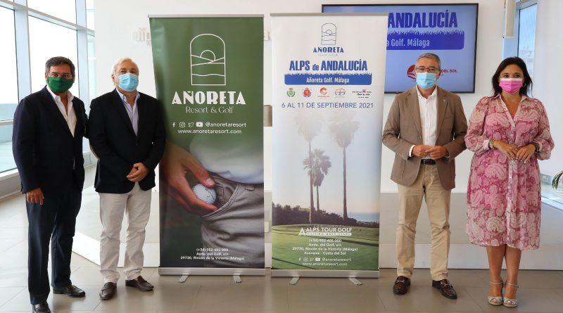 Rincón de la Victoria, sede del Torneo Andaluz de Golf ALPS de Andalucía en Añoreta Resort