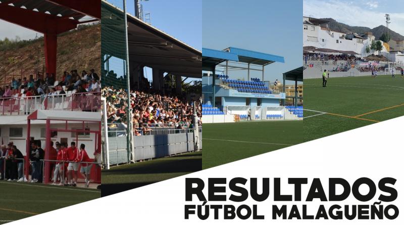 Resultados del fútbol malagueño