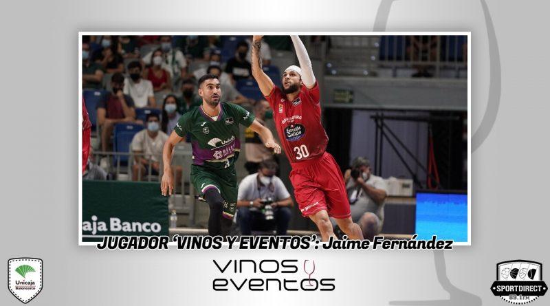 Jaime Fernández se proclama el primer Jugador Vinos y Eventos de la temporada