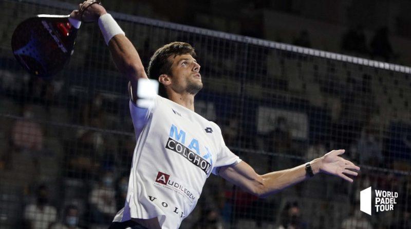 Momo González, el único superviviente malagueño de los cuartos de final del Lugo Open