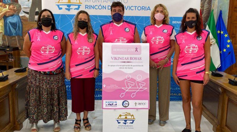 'Vikingas Rosas', el nuevo equipo de remo formado por mujeres operadas de cáncer de mama