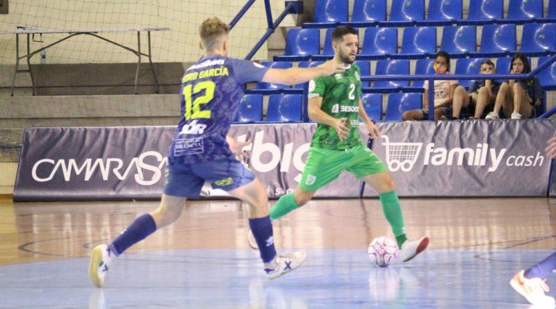 Primera derrota de la temporada del UMA Antequera