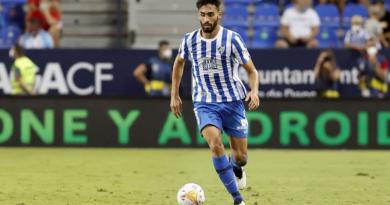 Juande, el jugador del Málaga que más balones recupera