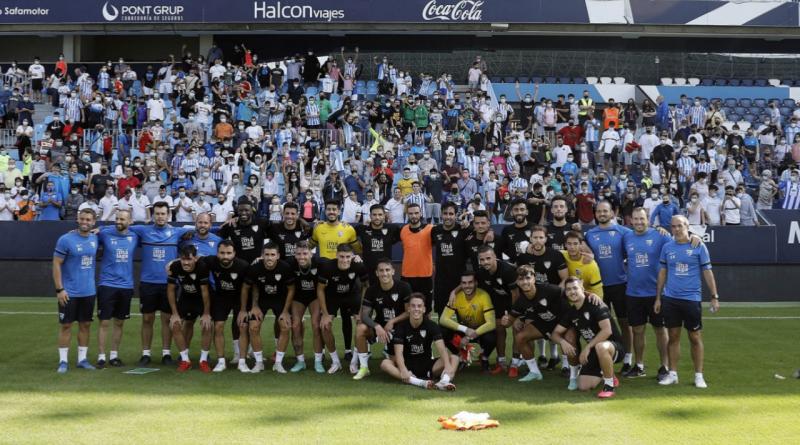 El Málaga afronta una intensa semana con tres partidos
