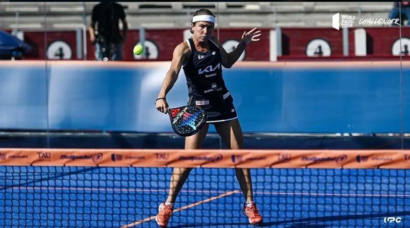 Carolina Navarro se quedó a las puertas de la final del Albacete Challenger