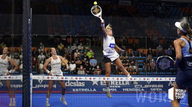 Alex Ruíz y Bea González se quedan a un paso de la final del Menorca Open, Carolina Navarro y Momo González, a dos