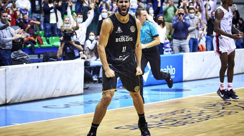Dani Díez y el Hereda San Pablo Burgos se embolsan la primera victoria en la Basketball Champions League