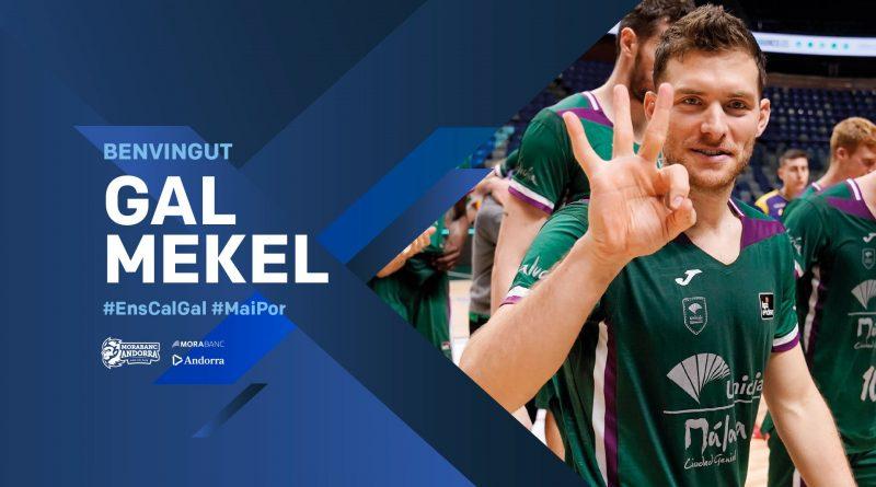 Gal Mekel se reencontrará con el Unicaja, ficha por el MoraBanc Andorra